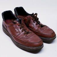 Vintage Rockport Rocsports Prowalker Men's 14 Shoes M9007 Brown Oxford's Leather