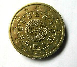 PIECE 50 cent euro PORTUGAL 2002