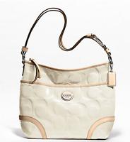 NWT $358 COACH Peyton Patent Leather Hobo Crossbody Bag Satchel Tote Purse NEW