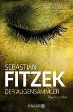 """*Der Augensammler* von Sebastian Fitzek   """"Grusel-Thriller""""     TOP SPANNEND!!!!"""
