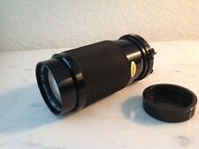 Soligor  Zoom+macro 80-200mm C/D 1:4.5 Lens for Minolta camera & instructions