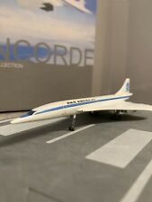 DW 1:400 scale diecast model Pan Am Airways Concorde Commercial airliner