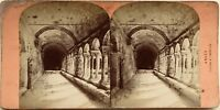 Arles Chiostro Da Saint Trophimus Fotografia Stereo Vintage Albumina c1870