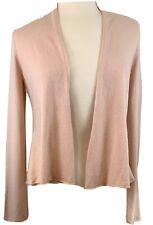Eileen Fisher Women's XS Cashmere Open Cardigan Pink Sweater EUC