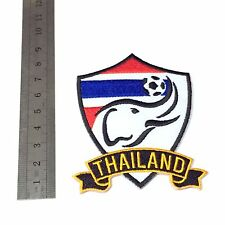 Thailand Football Thai Jersey Shirt National Embroidered Logo Iron On Patches
