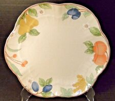 """Mikasa Fruit Panorama Cake Plate 10 1/4"""" DC014 EXCELLENT!"""