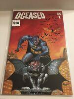 2019 DC Comics DCeased Batman Trade Variant #1