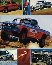 Big 1987 Chevy S-10 PickUp Truck Brochure / Catalog w/Color Chart: 4WD,4x4,Sport