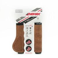 Bike Cork Handle Bar Grip Alloy Lock-on Ring MTB Ergonomic Handlebar  Shorex