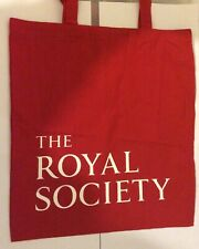 New listing Royal Society London promotional tote bag