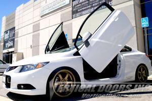 Honda Civic Coupe 2011-2015 Vertical Doors Inc Lambo Door Kit 11-15 LSD 9th Gen