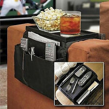 Sofa Couch Arm Rest Organizer Storage Remote Control Holder table bags-New