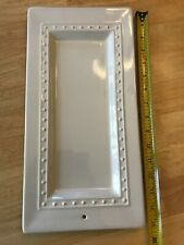 "Nora Fleming 15"" x 7.5""""  Rectangular  Platter Serving Tray Plate"