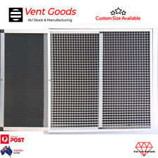 Return Air Grille Hinged Egg Crate With Filter Removable Core Eggcrate Grille