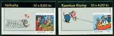 DENMARK HS119-20 (1218-9) Comic Strip booklets, VF