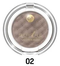 Maquillage Yeux Ombre À Paupières Mat secretale Mono Fard Noisette 02 - Bell