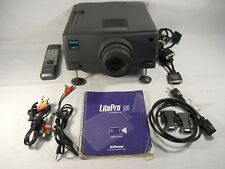InFocus LitePro 580 Digital Projector 350 ANSI Lumens w/ Remote Home Office Use