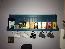 Mug Rack Coffee Bar and Tea Shelf or Plate rack