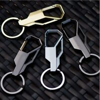 Cute Metal Mens Creative Alloy Keyfob Gift Car Keyring Keychain Key Chain Ring 1
