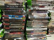 10 Video Games Random Lot Could Include Wii Ps2 Ps3 Xbox 360 - Cleaned & Buffed