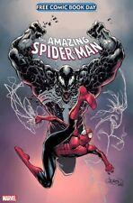 🚨🕷🔥 Fcbd 2021 Marvel Silver Spider-Man Venom #1 Al Ewing Ram V No Stamps
