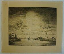 JOHAN GUDMAN ROHDE (1856-1935) WINDIGER TAG - JUGENDSTIL - ART-NOUVEAU
