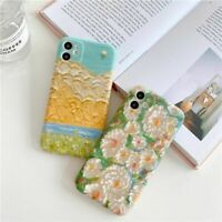 Beautiful Floral Oil Painting Case Vintage Flowers Cover For iPhone 11 X XS XR 8