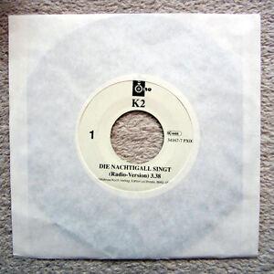 Single / BAND K2 / DISCO 1994 / RARITÄT / DIE NACHTIGALL SINGT /
