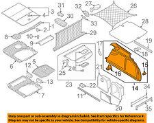 AUDI OEM 06-08 A6 Quattro Interior-Rear-Side Trim Left 4F9863879GSQC