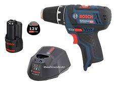 Bosch Akku Bohrschrauber GSR 12V-15 + Ladegerät GAL 1230 CV + 3.0 Ah Akku