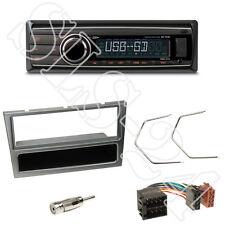 Caliber RMD212 Radio + Opel Astra Corsa Agila Blende aluminium + ISO Adapter