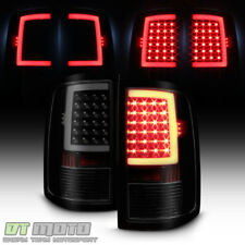 Black Smoke 2009-2017 Dodge Ram 1500 10-17 2500 3500 LED Tube Tail Lights Lamps
