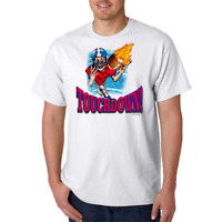 USA Made Bayside T-shirt Sports Football Football Touchdown b2