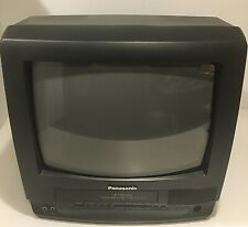 "Panasonic 4 Head Omnivision 13"" TV/VCR Combo VHS FM Radio PV-C1340 -Retro Gaming"