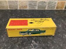 French dinky toys No 550 Chrysler Saratoga box only