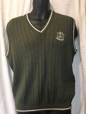 2001 Ryder Cup The Belfry Sweater Vest XL 2002 PGA Golf