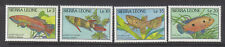 Siera Leone 1988 Fish set MNH
