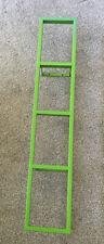 Ikea Lerberg Wall Mounted Rack Storage Shelf DVD CD BluRay Games Green