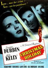 Christmas Holiday (DVD) Deanna Durbin, Gene Kelly, Gale Sondergaard