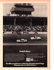 1971 PLYMOUTH GTX  / RICHARD PETTY WINS DAYTONA 500  ~  ORIGINAL CHAMPION AD
