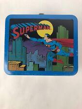 50s Superman (Hallmark School Days, 1998) Ltd. Ed. Metal Tin Lunchbox New Sealed
