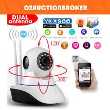 HD 1080P Dual Antenna WiFi Wireless P2P IP CCTV PTZ SecurityCamera Night Vision