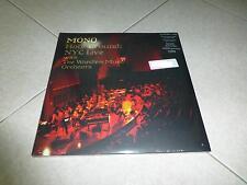 MONO HOLY GROUND NYC LIVE RED VINYL LP LIMITED EDITION ELUVIUM MOGWAI EITS GYBE