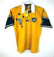 Australia Wallabies Canterbury 2003 Jersey Rare Deadstock Size Men's Large