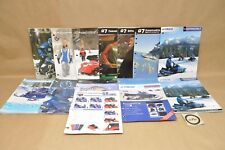 2000-2009 Yamaha Snowmobile Apparel Clothing Accessories Parts Catalog Lot