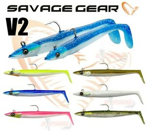 New 2021 SANDEEL V2 Savage Gear Saltwater Fishing Sea Lures Tackle Bass Cod lrf
