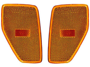 Hummer H3 06 - 09 Front Side Marker Lights Lamps Left Right Replacement Pair