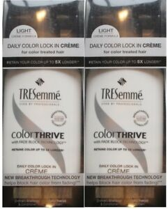 2 TRESEMME HAIR COLOR LOCK IN CREME OR FADE BLOCK BUYERS CHOICE FREE SHIPPING US