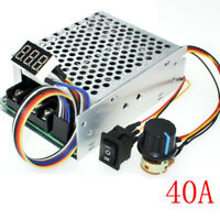 PWM Motor Speed Controller CW CCW Reversible Switch DC10-55V 12V 24V 36V MAX 60A
