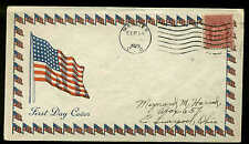 680 FALLEN TIMBERS FDC MAUMEE, OH UNLISTED CACHET BY BRADIE BUCHANAN--SCARCE